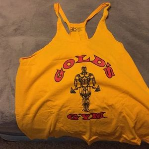 Gold's Gym skinny strap tank top